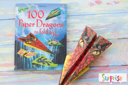 Usborne 100 Paper Dragons Fold and Fly