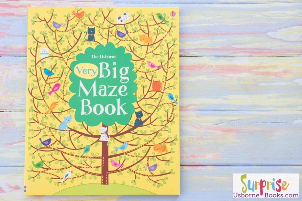 Usborne Very Big Maze Book