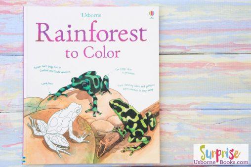 Usborne Rainforest to Color
