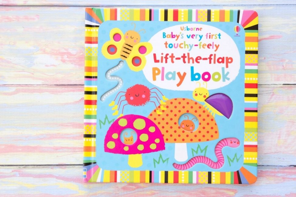 Baby's Very First Lift-the-Flap Play Book Usborne Books & More
