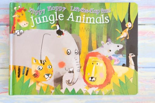 Usborne Flippy-Floppy Jungle Animals